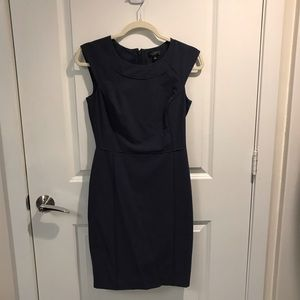 The Limited Collection Blue Sheath Dress 0